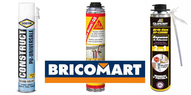 Espuma de poliuretano Bricomart
